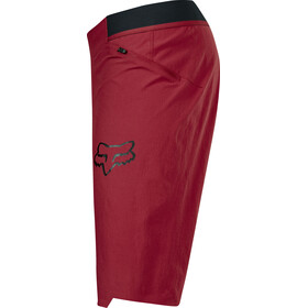 Fox Attack Shorts Men dark red